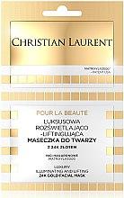 Düfte, Parfümerie und Kosmetik Straffende Gesichtsmaske mit Gold - Christian Laurent Luxury Illuminating And Lifting 24K Gold Face Mask