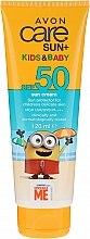 Düfte, Parfümerie und Kosmetik Sonnenschutzcreme für Kinder und Babys SPF 50 - Avon Sun+ Kids And Baby Sun Cream SPF50