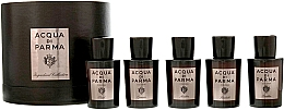 Düfte, Parfümerie und Kosmetik Acqua Di Parma Ingredient Collection - Duftset (Eau de Cologne 5x20ml)