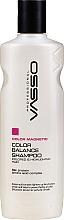 Düfte, Parfümerie und Kosmetik Farbschutzshampoo für gefärbtes und gesträhntes Haar mit Seidenproteinen und Aminosäuren - Vasso Professional Color Balance Shampoo