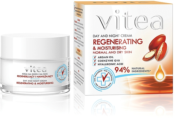 Intensive regenerierende Gesichtscreme - Vitea Intensive Regenerating Face Cream