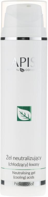 Neutralisierendes Gesichtsgel-Peeling - APIS Professional Home TerApis Neutralising Gel (Cooling) Acids