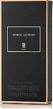 Düfte, Parfümerie und Kosmetik Kompakte Foundation - Serge Lutens Teint Si Fin Compact Foundation