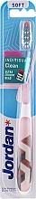 Düfte, Parfümerie und Kosmetik Zahnbürste weich Individual Clean mit Schutzkappe, weiß-beige - Jordan Individual Clean Soft