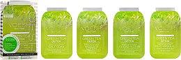 Düfte, Parfümerie und Kosmetik 3-stufige Green Tee Fußpflege - Voesh Pedi In A Box 3in1 Deluxe Pedicure Green Tea Detox (1. Meer Badesalz, 2. Zuckerpeeling, 3. Massagebutter)(35 g)