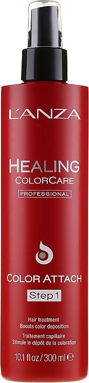Farbschutzspray für coloriertes Haar - Lanza Healing Color Care Color Attach Step 1