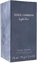 Düfte, Parfümerie und Kosmetik Dolce & Gabbana Light Blue Pour Homme - Deospray