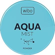 Düfte, Parfümerie und Kosmetik Fixierender Gesichtspuder - Wibo Aqua Mist Fixing Powder