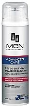 Düfte, Parfümerie und Kosmetik Rasiergel für harte Barthaare mit Vitamin E - AA Men Advanced Care Tough Beard Shaving Gel