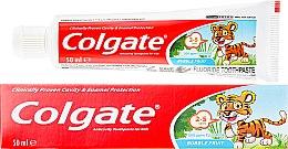 Düfte, Parfümerie und Kosmetik Kinderzahnpasta 2-5 Jahre - Colgate Toddler Bubble Fruit Anticavity Toothpaste For 2-5 Years Kids