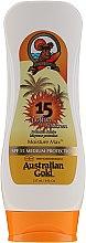 Düfte, Parfümerie und Kosmetik Sonnenschutzlotion für den Körper - Australian Gold Body Lotion SPF15