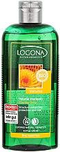 Düfte, Parfümerie und Kosmetik Volumen-Shampoo für feines Haar - Logona Hair Care Volume Shampoo Honey Beer