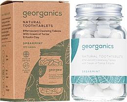 Düfte, Parfümerie und Kosmetik Zahntabletten mit Minze - Georganics Natural Toothtablets Spearmint