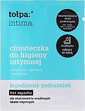 Düfte, Parfümerie und Kosmetik Beruhigende und erfrischende Intim-Pflegetücher gegen irritierte Haut 1 St - Tolpa Intima