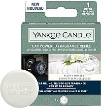 Düfte, Parfümerie und Kosmetik Auto-Lufterfrischer Car Powered Fragrance - Yankee Candle Car Powered Fragrance Refill Fluffy Towels (Refill)