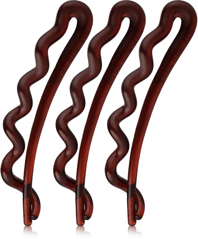 Haarspangen braun 3 St. - Invisibobble Waver Pretty Dark