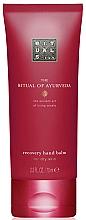 Düfte, Parfümerie und Kosmetik Regenerierender Handbalsam mit Mandeln und Indischer Rose - Rituals The Ritual of Ayurveda Recovery Hand Balm