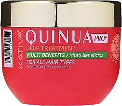 Düfte, Parfümerie und Kosmetik Intensive Maske für gefärbtes Haar - Kativa Quinua PRO Deep Treatment