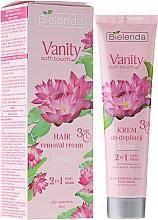 Düfte, Parfümerie und Kosmetik 2in1 Enthaarungscreme mit Lotusblüte - Bielenda Vanity Soft Touch Lotos