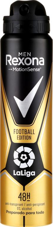 Deospray Antitranspirant - Rexona Men MotionSense La Liga Football Edition Antiperspirant