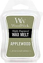 Düfte, Parfümerie und Kosmetik Tart-Duftwachs Applewood - WoodWick Wax Melt Applewood