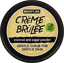 Düfte, Parfümerie und Kosmetik Sanftes Gesichtspeeling mit Kokosnuss und Puderzucker - Beauty Jar Gentle Scrub For Gentle Skin