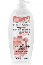 Düfte, Parfümerie und Kosmetik Duschcreme mit Hagebutte - Byphasse Caresse Shower Cream
