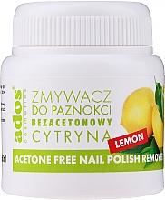 Düfte, Parfümerie und Kosmetik Nagellackentferner ohne Aceton Zitrone - Ados Acetone Free Nail Polish Remover