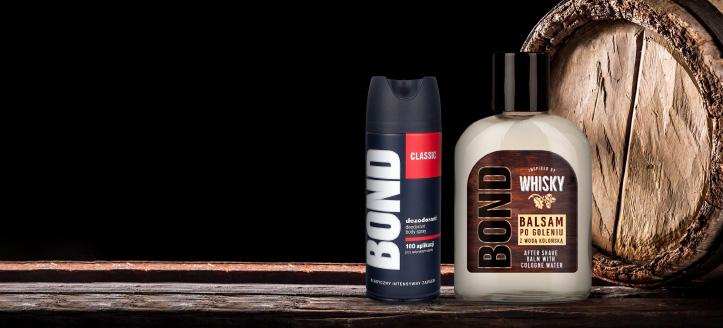 Beim Kauf von Produkten der Marken Bond oder Bond Expert ab 7 € erhältst Du ein Deodorant geschenkt