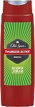 Düfte, Parfümerie und Kosmetik Duschgel - Old Spice Danger Zone Shower Gel