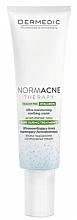 Düfte, Parfümerie und Kosmetik Feuchtigkeitsspendende und porenverengende Gesichtscreme für empfindliche, fettige, gemischte und Aknehaut - Dermedic NormAcne Therapy