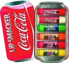 "Düfte, Parfümerie und Kosmetik Lippenbalsam-Set ""Coca-Cola"" - Lip Smacker Coca-Cola Flavored Lip Gloss Collection (Lippenbalsam/6x4g)"