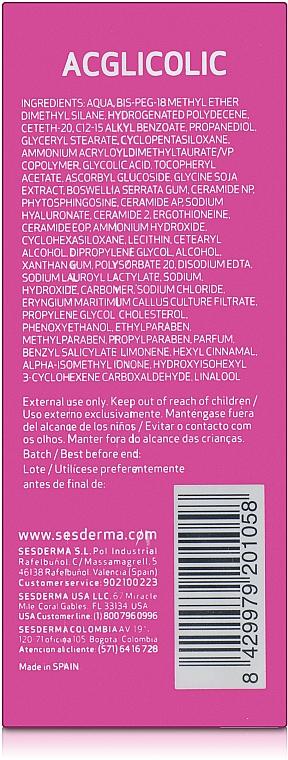 Anti-Aging Gesichtsserum mit Liposomen - SesDerma Laboratories Acglicolic Liposomal Serum — Bild N2