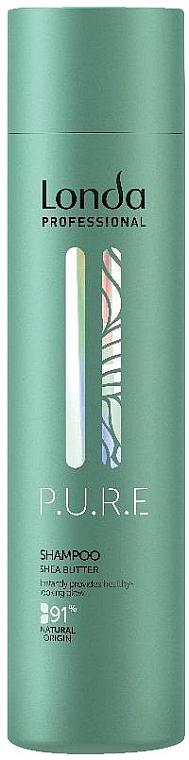 Shampoo mit Sheabutter für trockenes und glanzloses Haar - Londa Professional P.U.R.E Shampoo