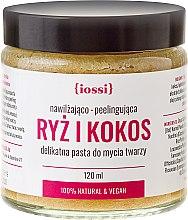 Düfte, Parfümerie und Kosmetik Klärendes Gesichtspeeling mit Reis und Kokos - Iossi