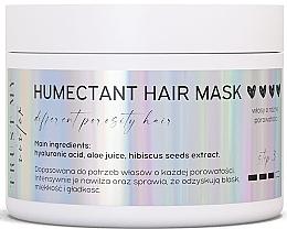 Düfte, Parfümerie und Kosmetik Haarmaske mit Hyaluronsäure und Hibiskussamen-Extrakt - Trust My Sister Humectant Hair Mask