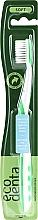 Düfte, Parfümerie und Kosmetik Zahnbürste extra weich grün - Ecodenta Soft Toothbrush