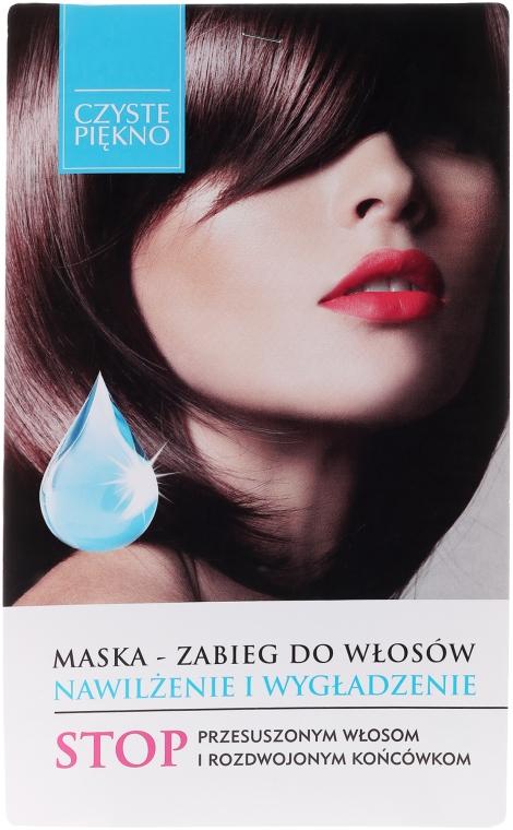 Feuchtigkeitsspendende und glättende Haarmaske - Czyste Piękno