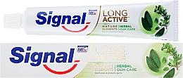 Düfte, Parfümerie und Kosmetik Schützende Zahnpasta Long Active Natural Elements - Signal Long Active Natural Elements