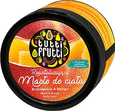 Revitalisierende Körperbutter mit Pfirsich und Mango - Farmona Tutti Frutti Peach & Mango Earth