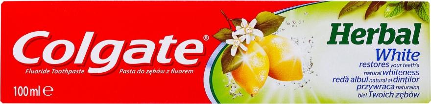 Zahnpasta Herbal White - Colgate Herbal White With Lemon Oil