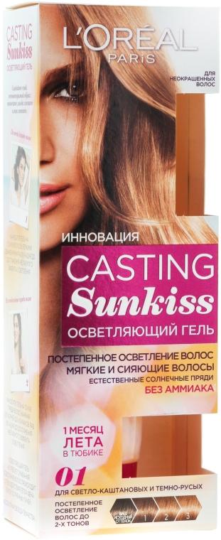 Gel zum Aufhellen natürlicher Haare - L'Oreal Paris Casting Sunkiss — Bild N1