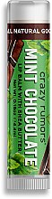 Düfte, Parfümerie und Kosmetik Lippenbalsam - Crazy Rumors Mint Chocolate Lip Balm