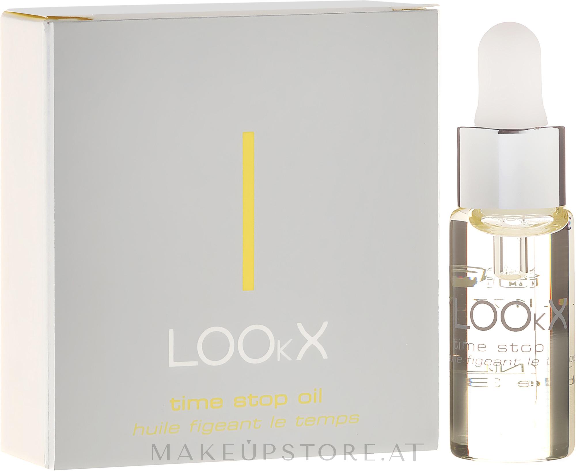 Feuchtigkeitsspendendes Anti-Aging Gesichtsöl - LOOkX Time Stop Oil — Bild 5 ml