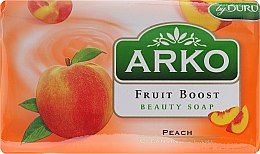 Düfte, Parfümerie und Kosmetik Parfümierte Körperseife - Arko Fruit Boost Beaty Soap Peach