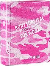 Düfte, Parfümerie und Kosmetik Omerta Body Survival For Woman - Eau de Parfum
