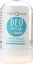 Düfte, Parfümerie und Kosmetik Deo Kristall aus antibakteriellen Mineralien - Purity Vision Deo Krystal 24 Hour Mineral Deodorant