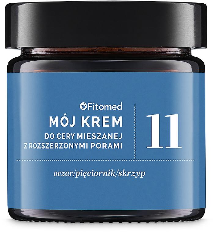 Gesichtscreme für gemischte und fettige Haut mit erweiterten Poren - Fitomed Herbal Cream Nr11