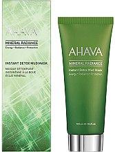 Düfte, Parfümerie und Kosmetik Mineralstoffreiche 2-Minuten-Schlammmaske aus dem Toten Meer für das Gesicht - Ahava Mineral Radiance Instant Detox Mud Mask