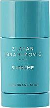Düfte, Parfümerie und Kosmetik Zlatan Ibrahimovic Supreme Pour Homme - Antiperspirant Deodorant Stick Hi-impact, 48H